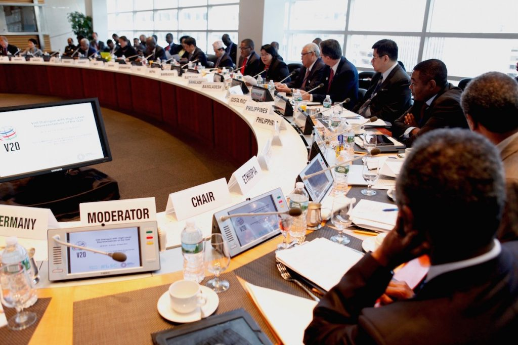 Ethiopia Presidency: V20 4th Ministerial Dialogue, April 2017